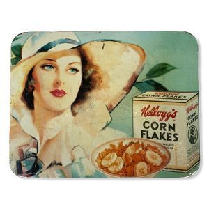 Vintage Kellogg's Reproduction Ad Tin Wall Hanging